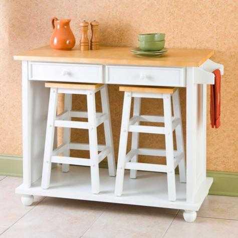 Gama muebles fabricamos y reparamos muebles de madera for Mesas para cocinas estrechas